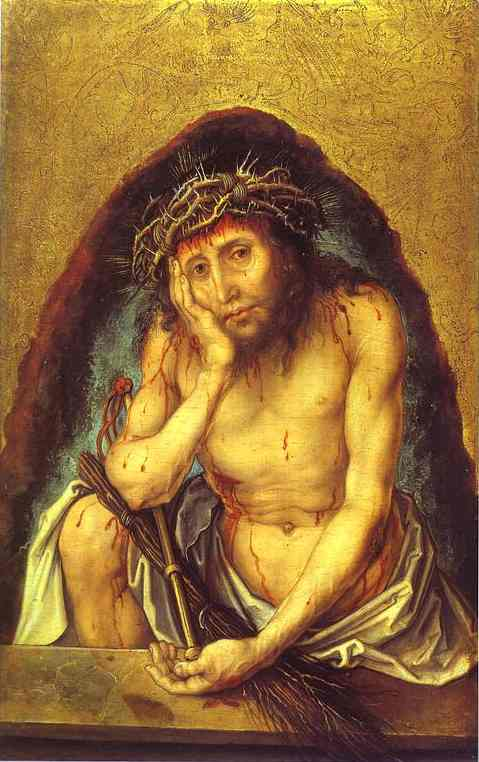Order Museum Quality Copies | Christ as the Man of Sorrow by Albrecht Durer | Most-Famous-Paintings.com