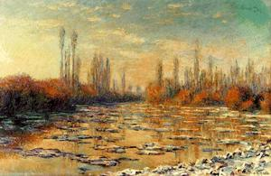 Claude Monet - The Floating Ice