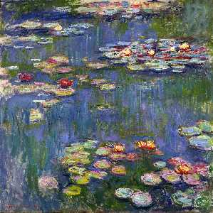 Claude Monet - Water Lilies (or Nympheas)