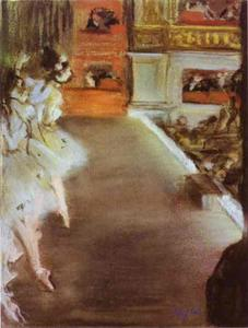 Edgar Degas - Dancers in the Old Opera House