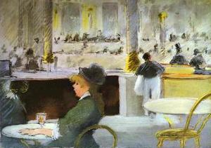 Edouard Manet - Interior of a Café