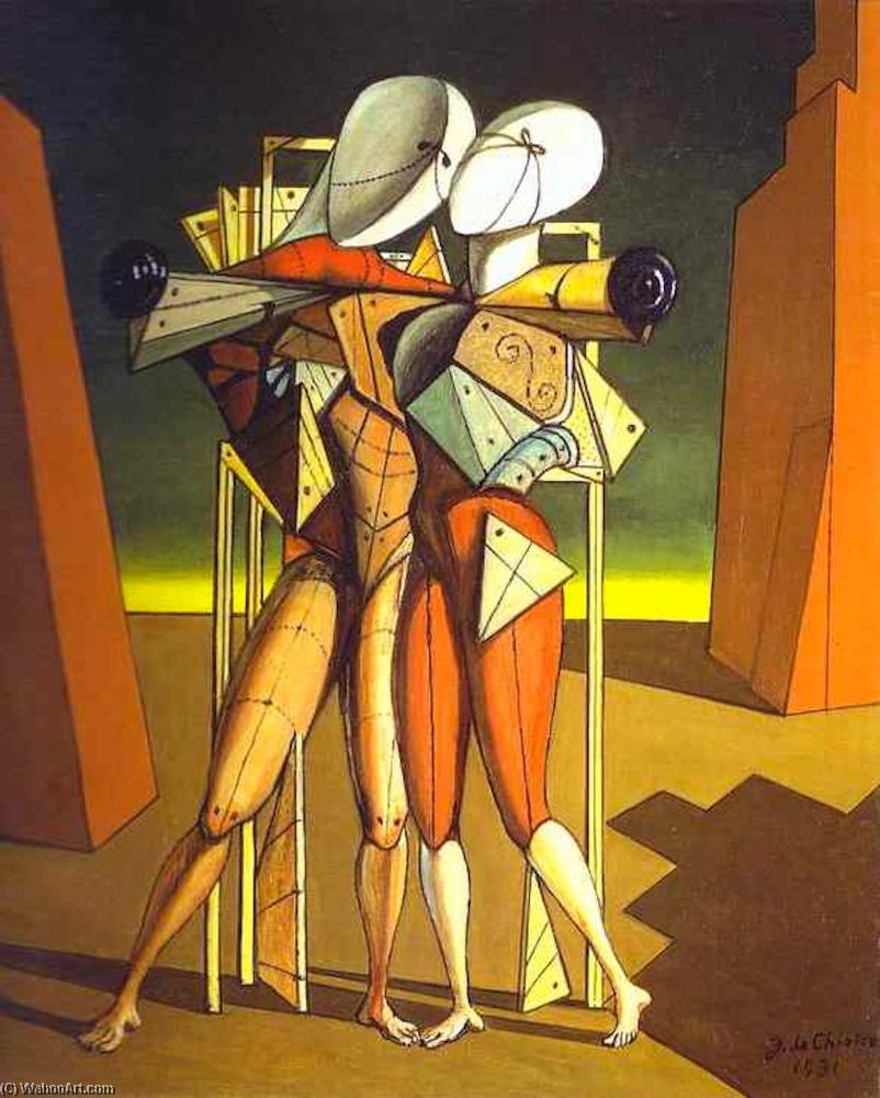 famous painting Hector and Andromache of Giorgio De Chirico