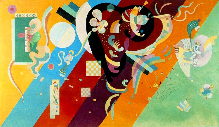 famous painting Composition IX of Wassily Kandinsky