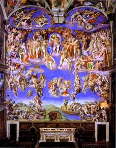 Michelangelo Buonarroti - The Last Judgment