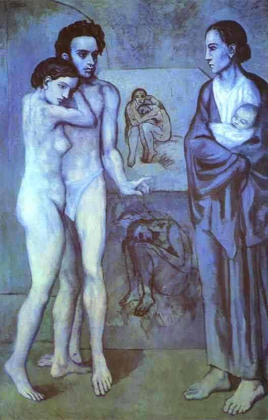 | La Vie (Life) by Pablo Picasso | Most-Famous-Paintings.com