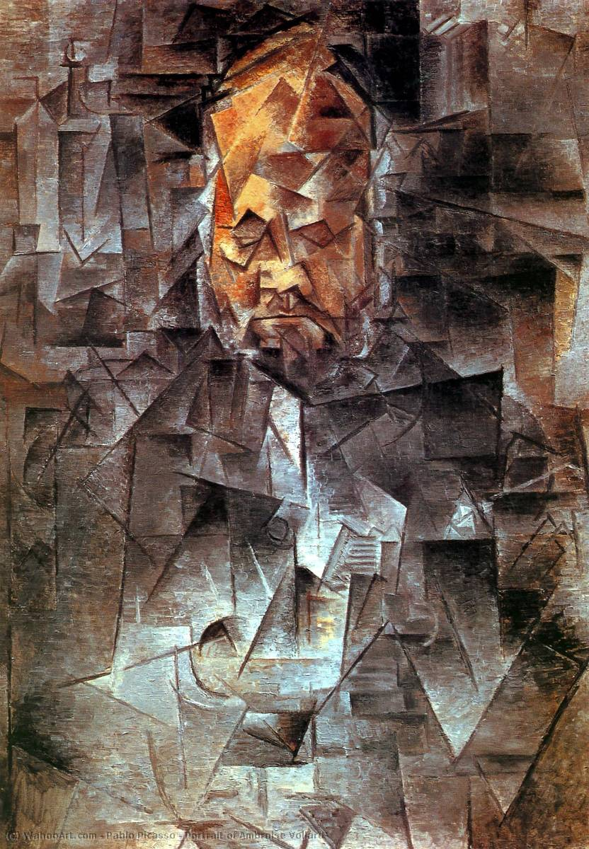 famous painting Portrait of Ambroise Vollard of Pablo Picasso