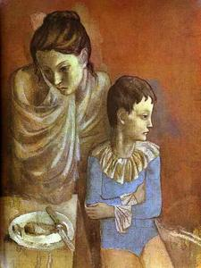 Pablo Picasso - Tumblers (Mother and Son)