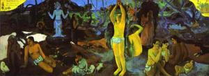 Paul Gauguin - D'où venons nous Que sommes-nous Où allons-nous (Where Do We come from. What Are We. where Are We Going)