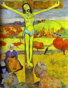 Paul Gauguin - The Yellow Christ