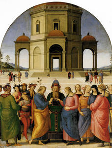 Vannucci Pietro (Le Perugin) - Marriage of the Virgin