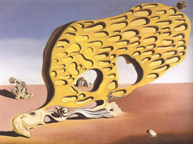 famous painting The Enigma of Desire, My Mother, 1929 of Salvador Dali
