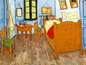 Vincent\'s Bedroom in Arles by Vincent Van Gogh