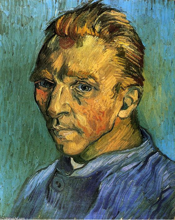 famous painting Self Portrait of Vincent Van Gogh