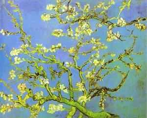 Vincent Van Gogh - Branches of Almond tree in Bloom. Saint-Rémy