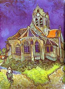 Vincent Van Gogh - The Church in Auvers