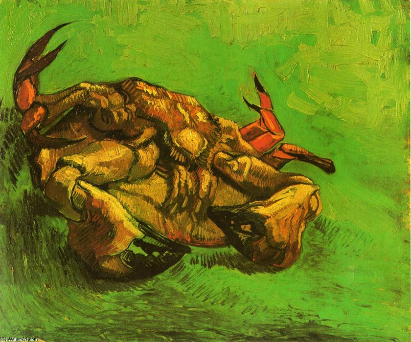 Order Art Reproductions | Crab on Its Back by Vincent Van Gogh | Most-Famous-Paintings.com