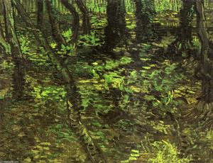 Vincent Van Gogh - Undergrowth with Ivy