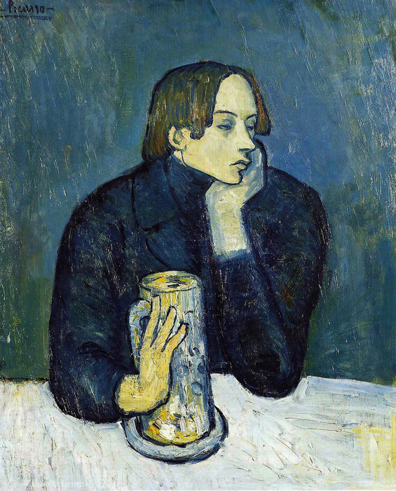 | Sabartes by Pablo Picasso | Most-Famous-Paintings.com