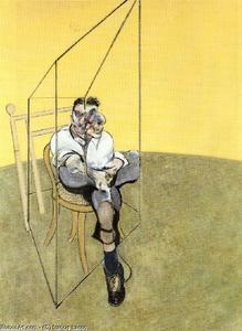 Francis Bacon - three studies of lucian freud, 1969 a