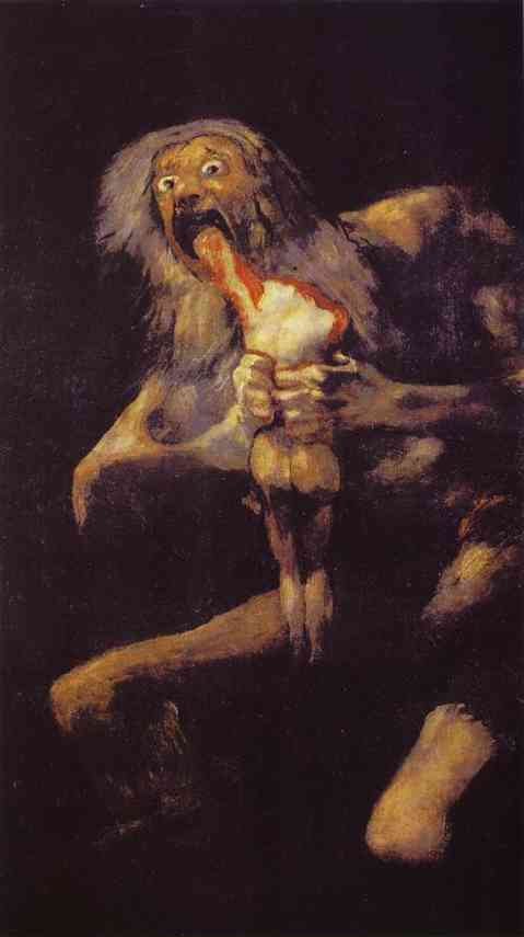 Order Reproductions | Saturn Devouring His Son by Francisco De Goya | Most-Famous-Paintings.com