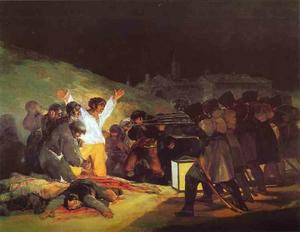 Francisco De Goya - The Third of May, 1808 The Execution of the Defenders of Madrid