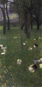 Gustav Klimt - After the Rain