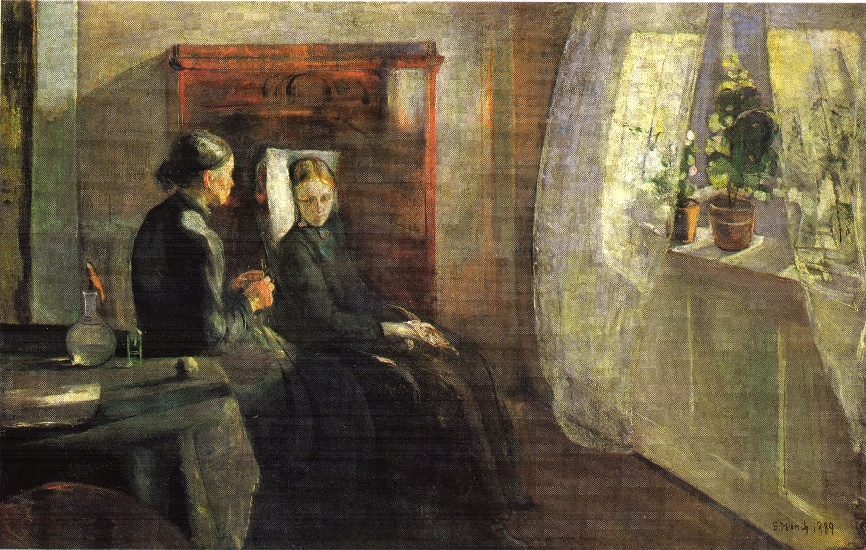 famous painting Spring of Edvard Munch