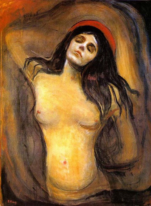 Order Reproductions | Madonna by Edvard Munch | Most-Famous-Paintings.com