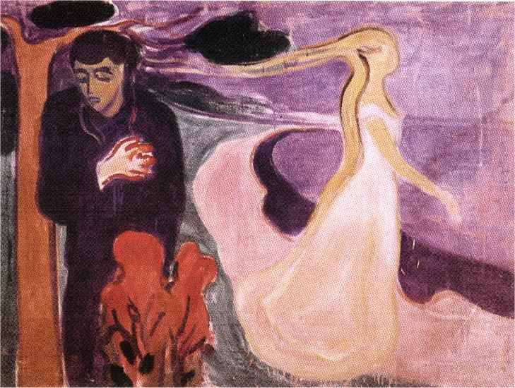 famous painting Separation of Edvard Munch