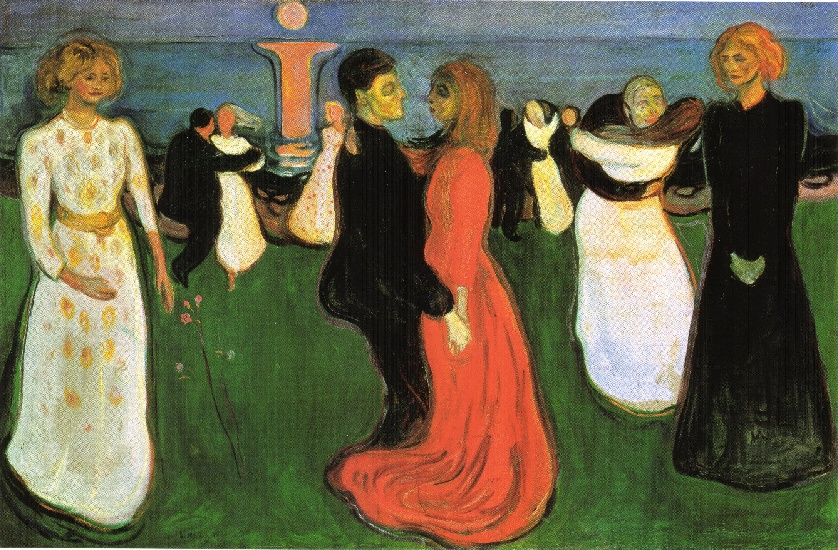 famous painting The Dance of Life of Edvard Munch