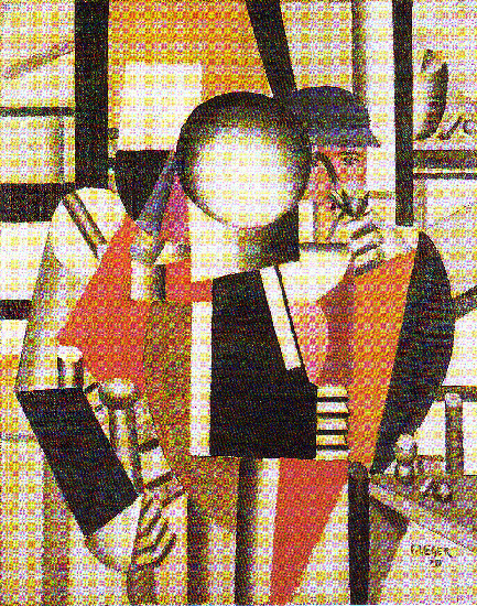 famous painting The three companions of Fernand Leger