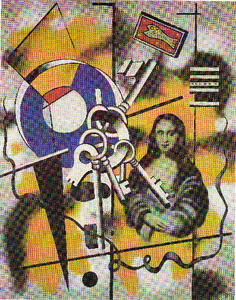 Fernand Leger - Key to the Mona Lisa