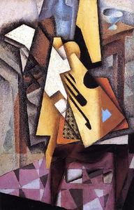 Juan Gris - Guitar on a Chair 02