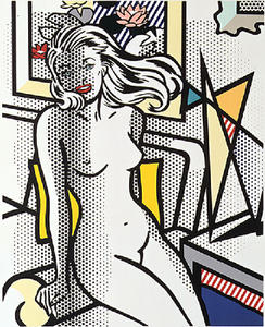 Roy Lichtenstein - Nude with Yellow Pillow