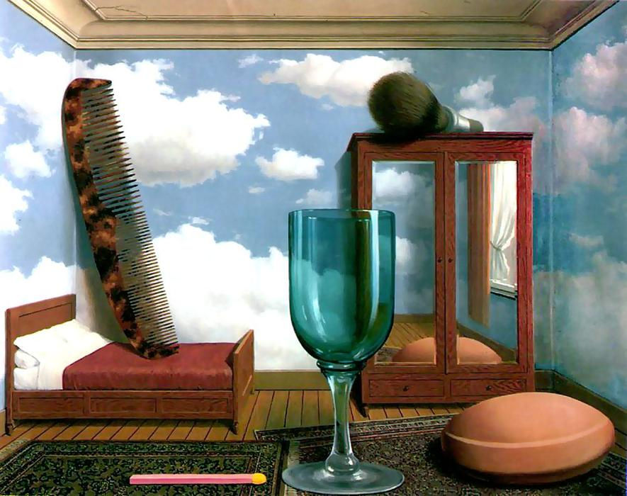 famous painting Personal values of Rene Magritte