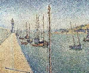 Paul Signac - Portrieux, Brittany