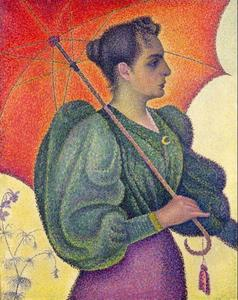 Paul Signac - Woman with a Parasol