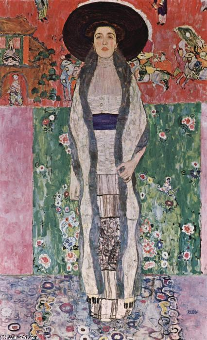 Buy Museum Art Reproductions | Portrait of Adele Bloch-Bauer II by Gustav Klimt | Most-Famous-Paintings.com