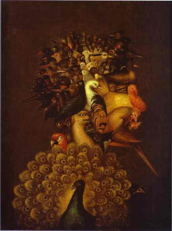 famous painting Air of Giuseppe Arcimboldo