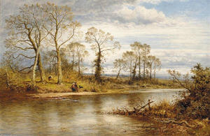 Benjamin Williams Leader - An English River in Autumn