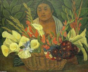 Diego Rivera - Flower Seller 2