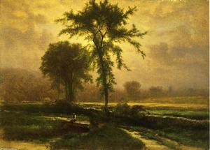 George Inness - Country Road