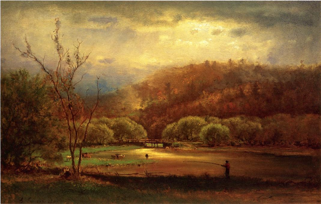 an introduction to the analysis of lake trasimero by george inness
