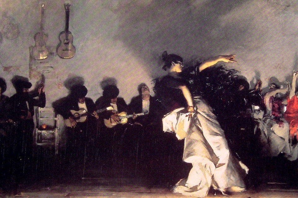 Order Reproductions | El Jaleo by John Singer Sargent | Most-Famous-Paintings.com