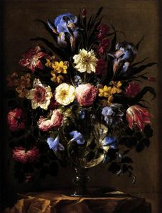 Juan De Arellano - Vase of Flowers 1