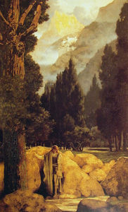 Maxfield Parrish - Poets' Dream