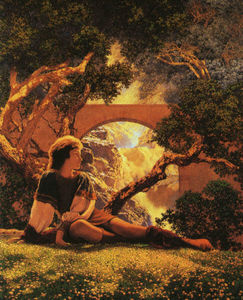 Maxfield Parrish - The Knave