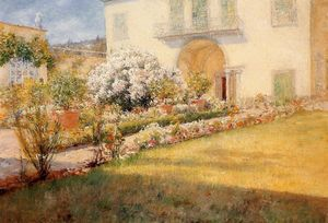 William Merritt Chase - Florentine Villa
