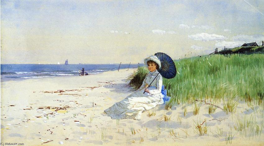 famous painting Summer Reverie of Alfred Thompson Bricher