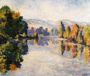 Jean Baptiste Armand Guillaumin - The Creuse in Autumn